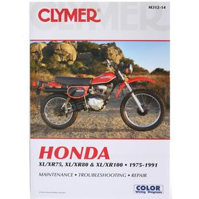 Clymer Honda Repair Manual - M312-14