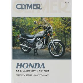 Clymer Honda Repair Manual  - M335