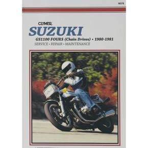 Clymer Suzuki Repair Manual  - M378