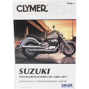 Clymer Suzuki Repair Manual  - 2603