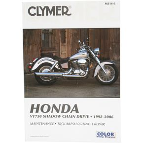 Clymer Honda Repair Manual  - M314-3