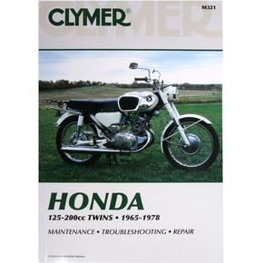 Clymer Honda Repair Manual  - M321