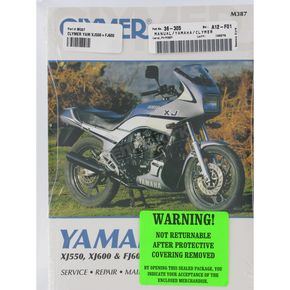 Clymer Yamaha Repair Manual  - M387