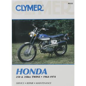 Clymer Honda Repair Manual  - M322