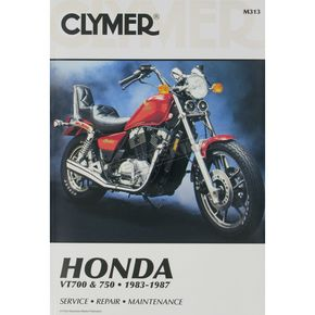 Clymer Honda Repair Manual