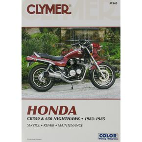 Clymer Honda Repair Manual  - M345