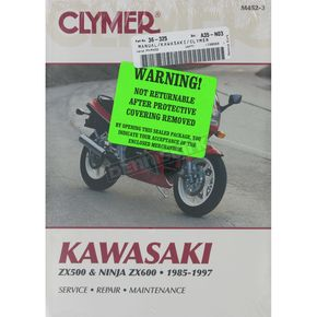 Clymer Kawasaki Repair Manual  - M452-3