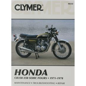 Clymer Honda Repair Manual  - M332