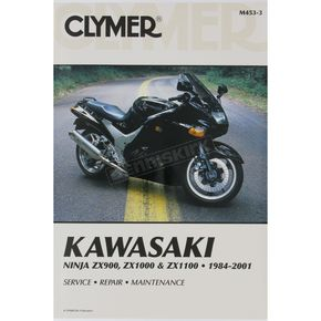 Clymer Kawasaki Repair Manual  - M453-3