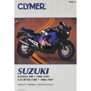 Clymer Suzuki Repair Manual  - M383-3