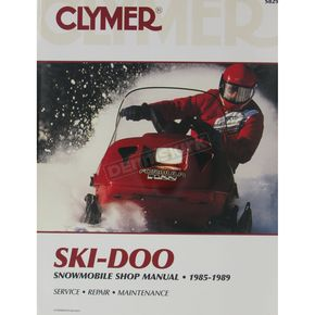 Clymer Snowmobile Service Manual - S829