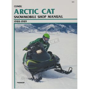 Clymer Arctic Cat Service Manual - S835