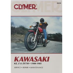 Clymer Kawasaki Repair Manual  - M450
