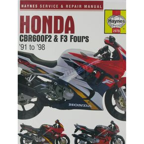Haynes Honda CBR600F2/CBR600F3 Repair Manual  - 2070