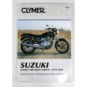 Clymer Suzuki Repair Manual  - M376