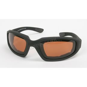 Black C-2 Performance Sunglasses w/Driving Lens - C-2BK/DR