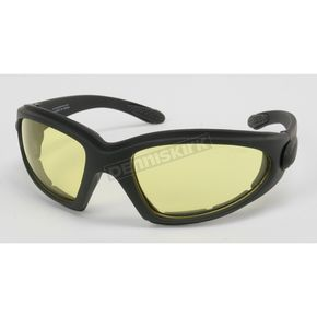 Black C-3 Performance Sunglasses w/Night Driving Lens - C-3BK/ND