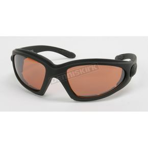 Black C-3 Performance Sunglasses w/Driving Lens - C-3BK/DR