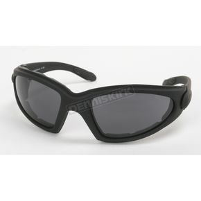 Black C-3 Performance Sunglasses w/Smoke Lens - C-3BK/SM