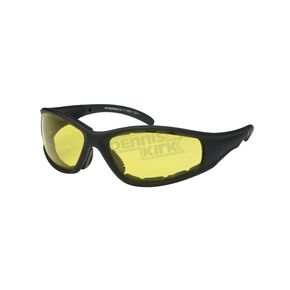 Black C-9 Performance Sunglasses w/Night Driving Lens - C-9BK/ND