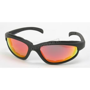 Chapel Black C-1 RV Performance Sunglasses w/Red RV Lens - C-1BK/RED