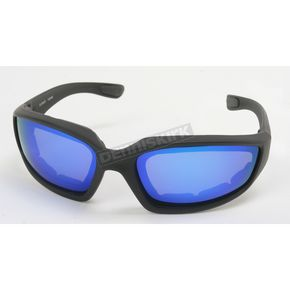 Chapel Black C-2 RV Performance Sunglasses w/Blue RV Lens - C-2BK/BLU