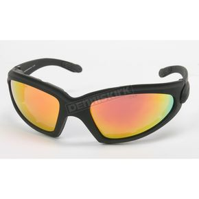 Black C-3 RV Performance Sunglasses w/Red RV Lens - C-3BK/RED