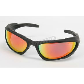 Chapel Black C-4 RV Performance Sunglasses w/Red RV Lens - C-4BK/RED