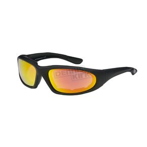 Chapel Black C-15 RV Performance Sunglasses w/Red RV Lens - C-15BK/RED