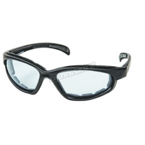Chapel Black C-1SS Photochromatic On-A-Budget Sunglasses w/Smoke Lens - C-1SS