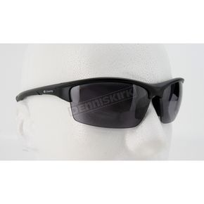 Chapel Black C-118IC Interchangeable Sunglasses w/Smoke, Clear & Yellow Lens - C-118ICBK/SM