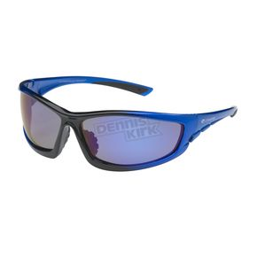Chapel Blue Safety C-120 Sunglasses w/Blue RV Lens - C-120BLU/BLU
