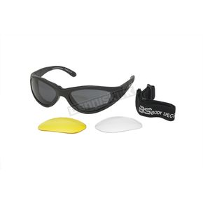 Chapel Black Body Specs BSG 1 Sunglasses - BSG1BK/SM/ND/CL