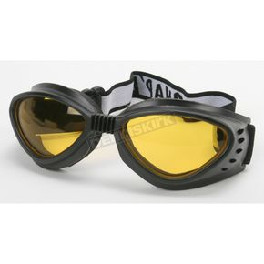 Chapel Black G-903 Goggles w/Night Driving Lens - G-903BK/ND