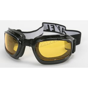 Matte Black G-904 Goggles w/Night Driving Lens - G-904BK/ND