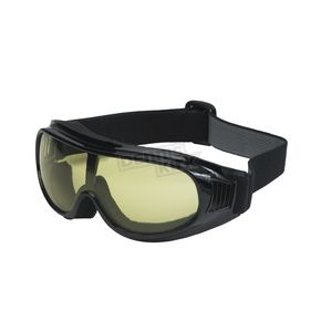 Black G-900 Over Glasses Goggles w/Night Driving Lens - G-900BK/ND