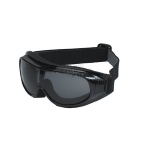 Black G-900 Over Glasses Goggles w/Smoke Lens - G-900BK/SM