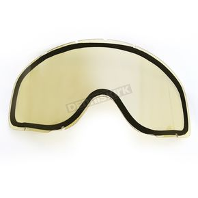 CKX Yellow Dual Anti-Scratch/Anti-Fog Lens for YH-18DL Goggles - 120050