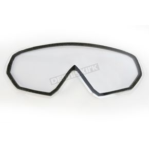 Clear Dual Anti-Scratch/Anti-Fog Lens for Assault Goggles - 120055