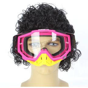 100% Black/Pink Racecraft Hyperion Goggles  - 50100-070-02