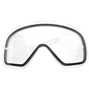 FXR Racing Clear Dual Replacement Lens with Tear-Off Posts - 14441