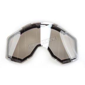 Klim Clear Silver Mirror Radius Pro Dual Replacement Lens (Non-Current) - 7000-901