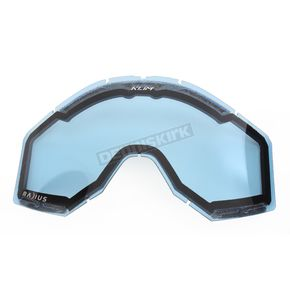 Klim Blue Tint Radius Pro Dual Replacement Lens (Non-Current) - 7000-901-000-200