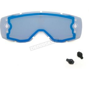 Scott Electric Blue Chrome WORKS Thermal Lens - 219703-286