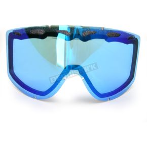 Scott Electric Blue Chrome 89Si Youth Thermal ACS Lens - 220516-286