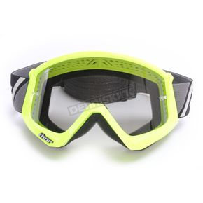 Thor Flo Green/Black Combat Sand Goggles - 2601-2086