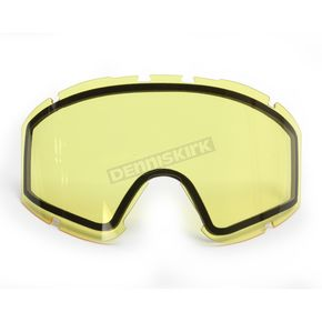 CKX Yellow Replacement Dual Pane Lens for Ghost Goggles - YH90/DL-YE