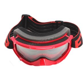 FXR Racing Youth Red/Black/White Throttle Goggles - 183130-2010-00