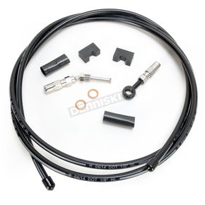 Magnum Black Pearl Designer Series Build Your Own Braided Hydraulic Clutch Line Kit with 7 foot Clutch Line - 491300A