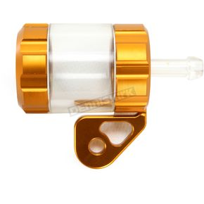 Powerstands Racing Gold/Transparent Clutch Reservior - 00-01807-23